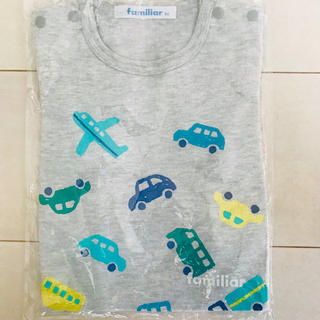familiar - 新品タグ付き❣️ ファリミア 🐻 Tシャツ 🚘✈️ サイズ80