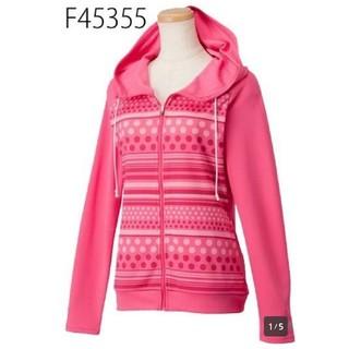 アディダス(adidas)の¥6372  ジャケット アディダス  *S フーディーTシャツ 長袖 ドット(その他)