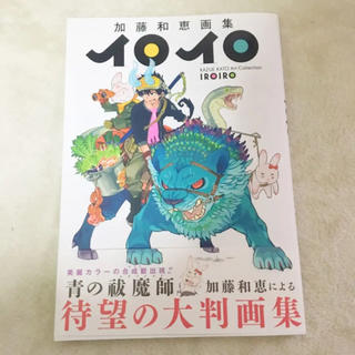 集英社 - 加藤和恵画集 イロイロ