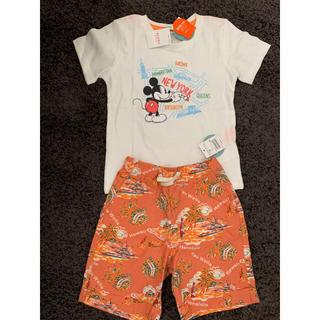 ビームス(BEAMS)の【新品】ビームス ミニ Tシャツ&ハーフパンツ(Tシャツ/カットソー)