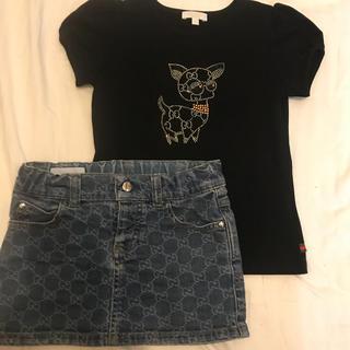 グッチ(Gucci)のグッチ 4y 100 110 2点セット GGプリント(Tシャツ/カットソー)