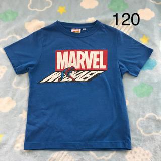 ジーユー(GU)のGUマーベルTシャツ120(Tシャツ/カットソー)