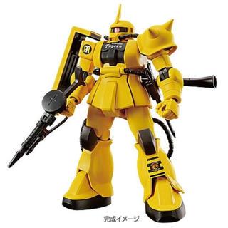 ハンシンタイガース(阪神タイガース)のHG1/144MS-06S ザクII タイガースバージョン(模型/プラモデル)