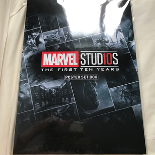 MARVEL - マーベル アベンジャーズ 10周年記念 B4ポスターセット