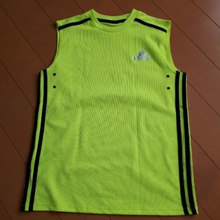 アディダス(adidas)の160㎝ アディダス ノースリーブシャツ(Tシャツ/カットソー)