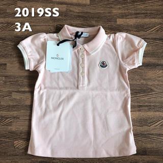 モンクレール(MONCLER)の新品 タグ付き  2019SS モンクレール キッズ ポロシャツ 3a(Tシャツ/カットソー)