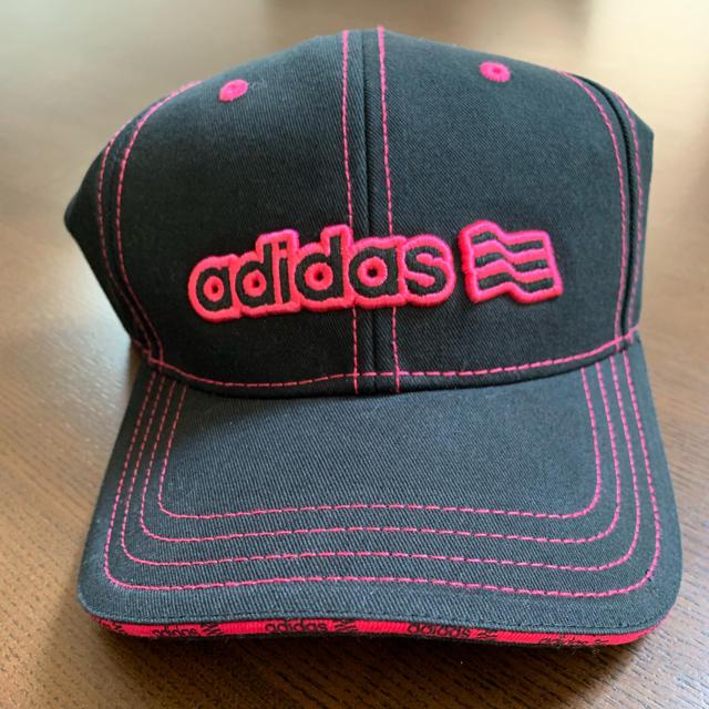 adidas(アディダス)のお値下げ!アディダスキャップ  新品未使用 レディースの帽子(キャップ)の商品写真