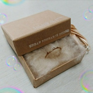 エテ(ete)のK10 URBAN RESEARCH  DOORS  ダイヤモンドリング(リング(指輪))