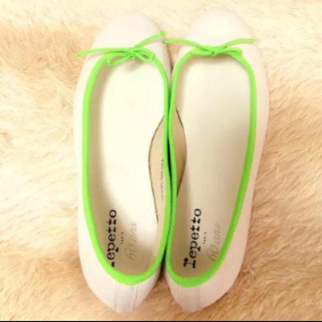 repetto(レペット)のrepetto☆バレエシューズ☆60th レディースの靴/シューズ(バレエシューズ)の商品写真