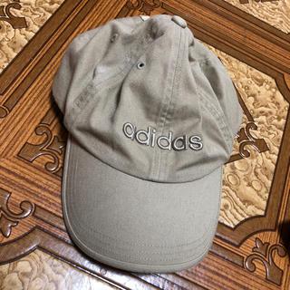 アディダス(adidas)のレディース アディダス キャップ ベージュ(キャップ)