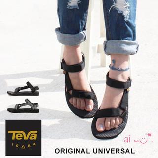 Teva - 新品 Teva サンダル ブラック 24.0cm