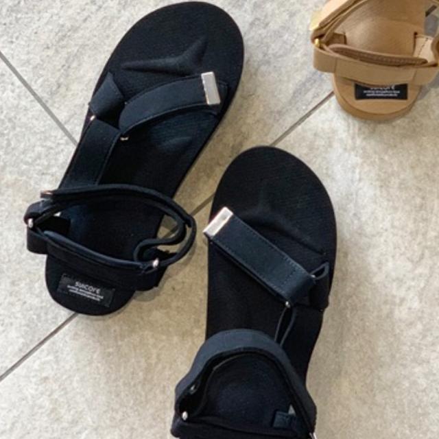 L'Appartement DEUXIEME CLASSE(アパルトモンドゥーズィエムクラス)の23 AP STUDIO スイコック スウェード サンダル レディースの靴/シューズ(サンダル)の商品写真