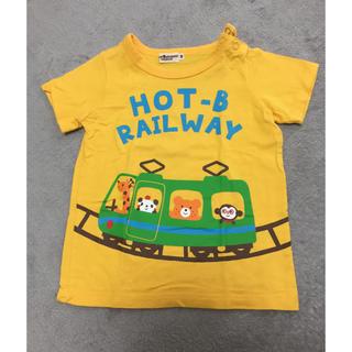 HOT BISCUITS - 【美品】ホットビスケッツ ミキハウス 90サイズ 半袖Tシャツ