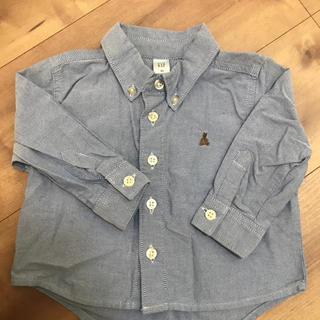 ギャップ(GAP)のGAPシャツサイズ80(シャツ/カットソー)