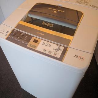 送料無料Z38631 日立7kg洗濯機 BW-7MV乾燥カビブロック 美品