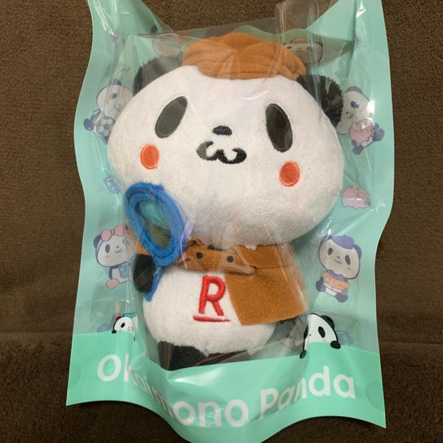 Rakuten(ラクテン)の楽天パンダ ぬいぐるみ エンタメ/ホビーのおもちゃ/ぬいぐるみ(ぬいぐるみ)の商品写真