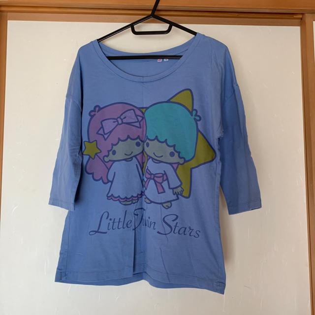 GU(ジーユー)のGU  七分袖 2点セット レディースのトップス(Tシャツ(長袖/七分))の商品写真