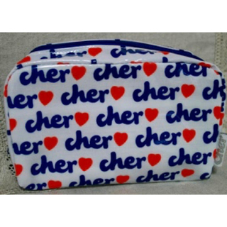 Cher - REINA レイナ 2008年3月号 付録  cher シェル  メイクポーチ