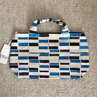 ミナペルホネン(mina perhonen)の新品♡ミナペルホネン  パニーニ バッグ  lake  bag(トートバッグ)