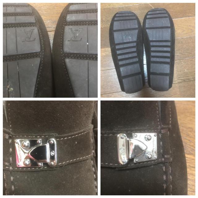LOUIS VUITTON(ルイヴィトン)のarashi6812様。専用。ドライビングシューズ メンズの靴/シューズ(スリッポン/モカシン)の商品写真