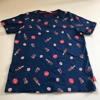 ジーユー(GU)のTシャツ M コカコーラ(Tシャツ/カットソー(半袖/袖なし))