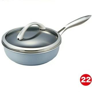アサヒ軽金属 - ★新品★ オールライト 22㎝ フライパン  アサヒ軽金属  日本製  なべ