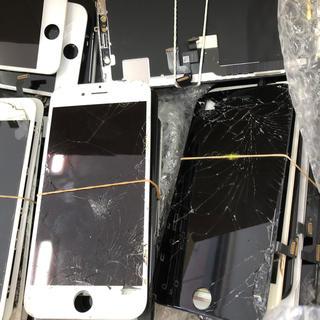 アイフォーン(iPhone)のジャンク品 iPhone 割れ 破損 画面 液晶(その他)