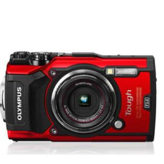 オリンパス(OLYMPUS)の【新品未使用】 OLYMPUS オリンパス Tough TG-5 レッド RED(コンパクトデジタルカメラ)