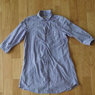 ドミンゴ(D.M.G.)のロングシャツ ストライプ シャツ ブロカント(シャツ/ブラウス(長袖/七分))