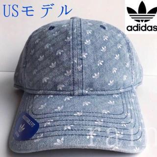 adidas - レア【新品】adidas アディダス USA ロゴ柄 デニムキャップ