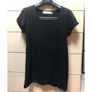 アンドエヌ(and N)の5-FIVE(アンドエヌ)半袖ポケットTシャツ black(Tシャツ(半袖/袖なし))