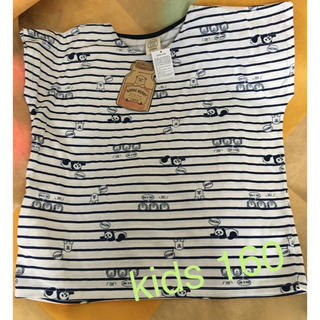 シマムラ(しまむら)の新品 girl's 半袖 シャツ ①(Tシャツ/カットソー)