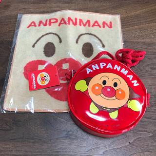 アンパンマン(アンパンマン)のアンパンマン ポーチ タオル 新品未使用(キャラクターグッズ)