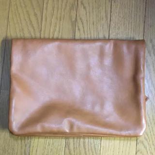 ジーユー(GU)のクラッチバッグ GU ブラウン レザー レザー素材 セット販売(クラッチバッグ)