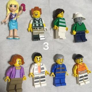 レゴ(Lego)の3 レゴ ミニフィグセット 8体 ミニフィギュア  レゴブロック  (キャラクターグッズ)