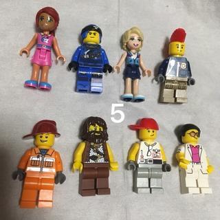 レゴ(Lego)の5 レゴ ミニフィグセット 8体 ミニフィギュア  レゴブロック  (キャラクターグッズ)