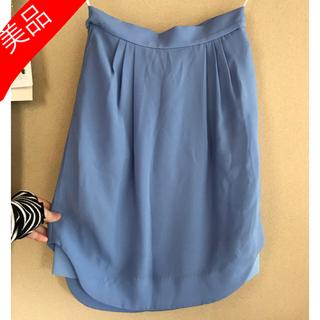 ジーヴィジーヴィ(G.V.G.V.)のG.V.G.V. × UNIQLO コラボ 美品スカート(ひざ丈スカート)