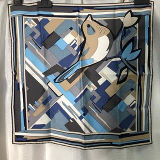 エミリオプッチ(EMILIO PUCCI)の美品 エミリオプッチ スカーフ 正規品(バンダナ/スカーフ)