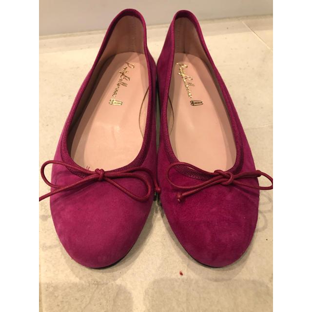 repetto(レペット)のプリティ バレリーナ ピンク フラットシューズ レディースの靴/シューズ(バレエシューズ)の商品写真