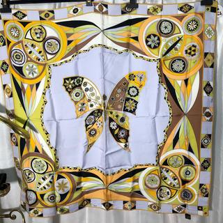 エミリオプッチ(EMILIO PUCCI)のエミリオプッチ 蝶 スカーフ 正規品(バンダナ/スカーフ)