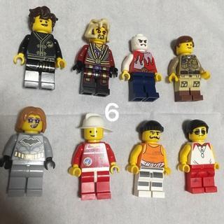 レゴ(Lego)の6 レゴ ミニフィグセット 8体 ミニフィギュア  レゴブロック  (キャラクターグッズ)