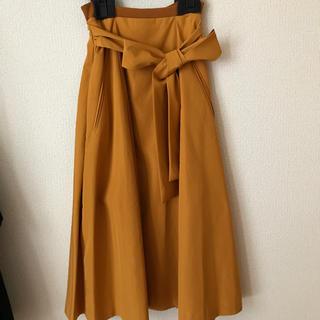 ルシェルブルー(LE CIEL BLEU)の新品未使用 ルシェル スカート(ひざ丈スカート)
