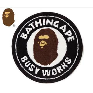 A BATHING APE/新品 BUSY WORKS RUG MAT
