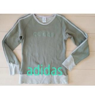 アディダス(adidas)のadidas  ロンT 薄めのトレーナー(Tシャツ(長袖/七分))