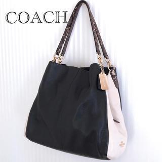 0888964ba117 コーチ(COACH) パイソン(ホワイト/白色系)の通販 16点   コーチを買う ...
