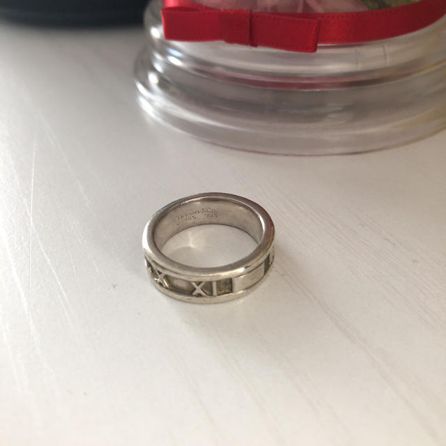 Tiffany & Co.(ティファニー)のティファニー アトラスリング  シルバー レディースのアクセサリー(リング(指輪))の商品写真
