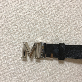 エムシーエム(MCM)のMCM ベルト 黒(ベルト)