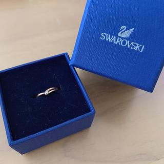 スワロフスキー(SWAROVSKI)のSWAROVSKI ピンキーリング(リング(指輪))