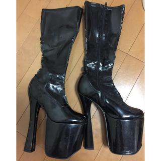 厚底ロングブーツ ヒール19cm(靴/ブーツ)