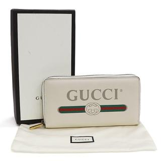 28d9eb7ace9c グッチ(Gucci)のGUCCI グッチプリント ラウンドファスナー長財布 A0999(財布)